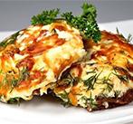 Свиное филе с овощами, запеченное с сыром