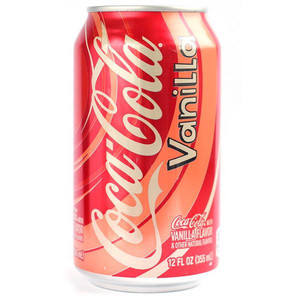 Кока-Кола Ваниль ж/б