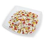 Салат из рис крабовые палочки кукуруза яйцо