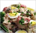 Салат «Мясо по-купечески»