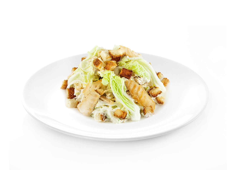 Салат цезарь с пармезаном рецепт