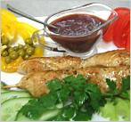 Филе цыпленка на шпажке