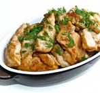 Куриное филе с овощами на кеци