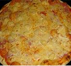 Пицца с тропическими фруктами